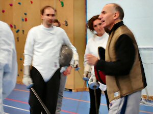 Fencing Lesson