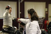 2012-02-12 Wheelchair Fencing Training Camp